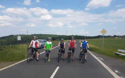 """Traditionsfahrradtour"" an Fronleichnam"