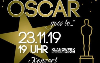 "Konzert ""And the Oscar goes to…"""