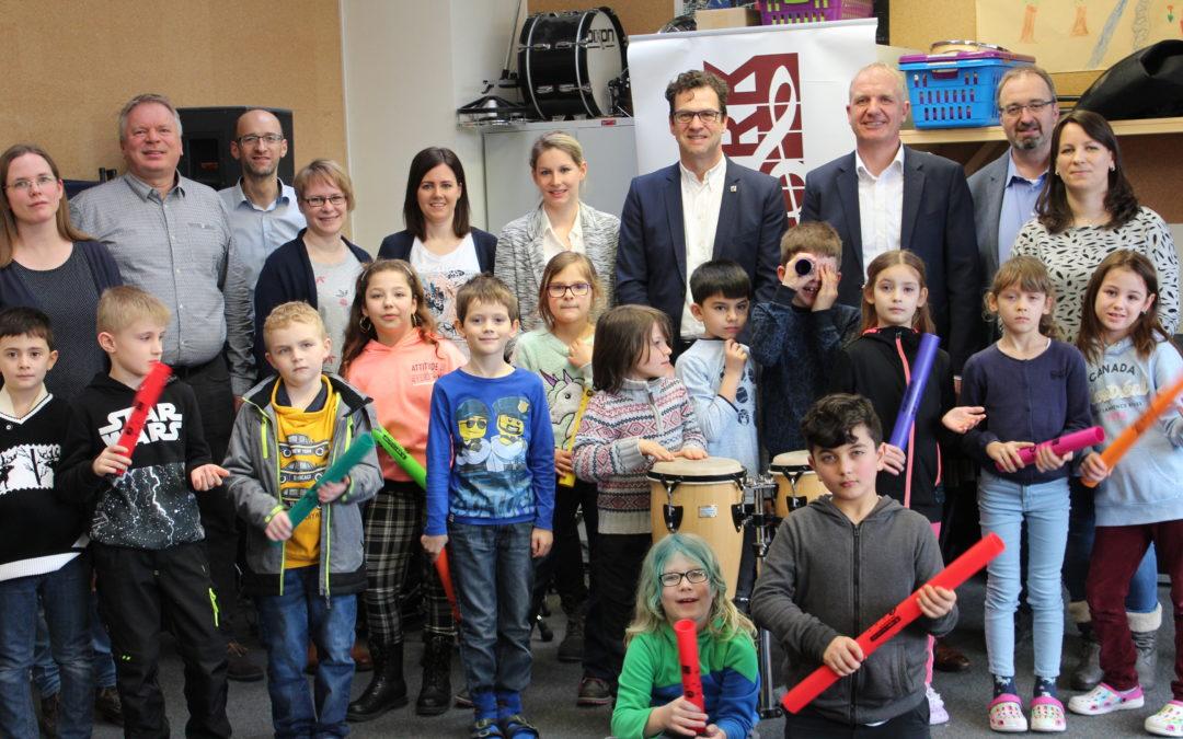 Musikprojekt für Morsbachs Grundschüler